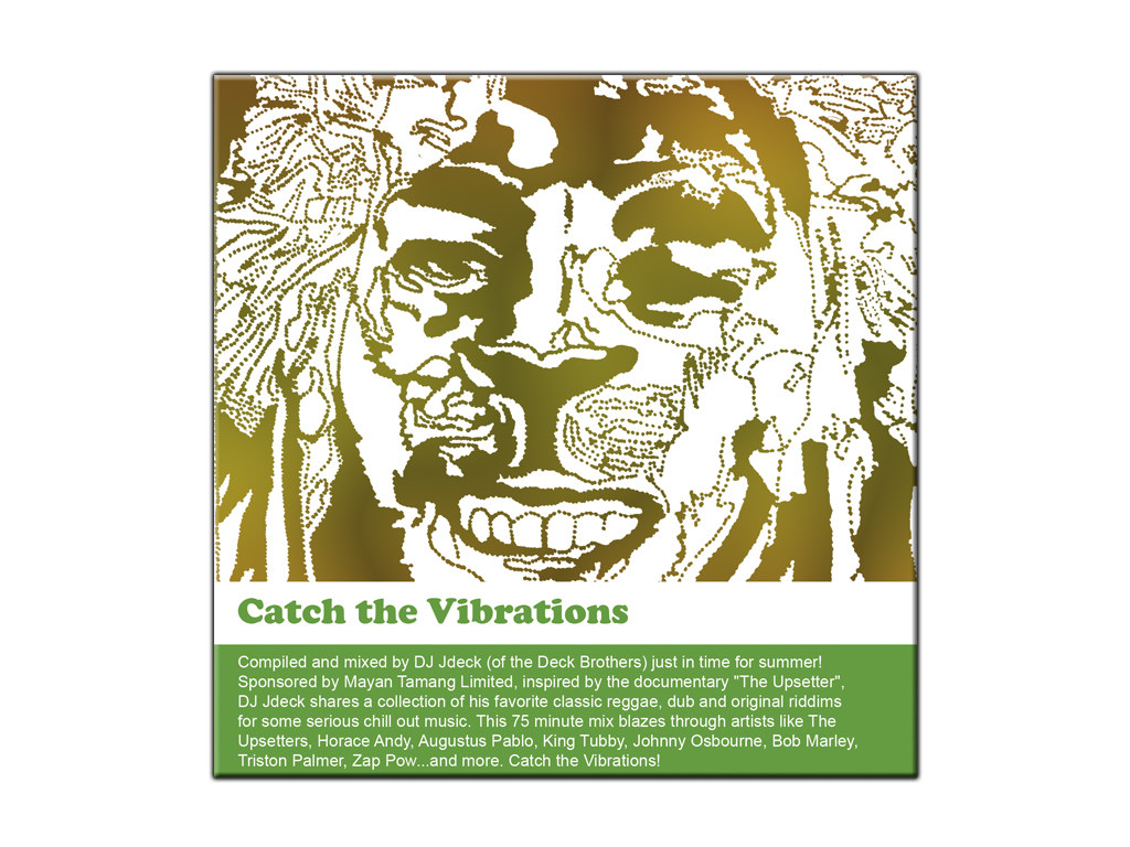 Title: Catch The Vibrations CD Cover Client: The Deck Brothers