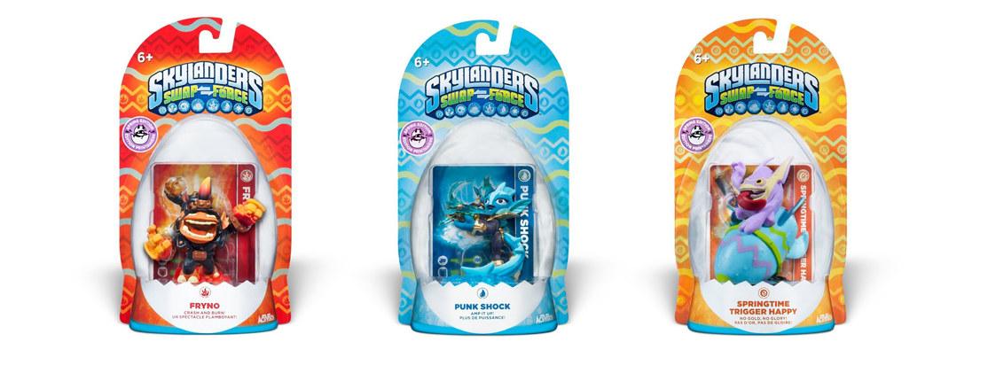 Skylanders Limited Edition Easter Packaging