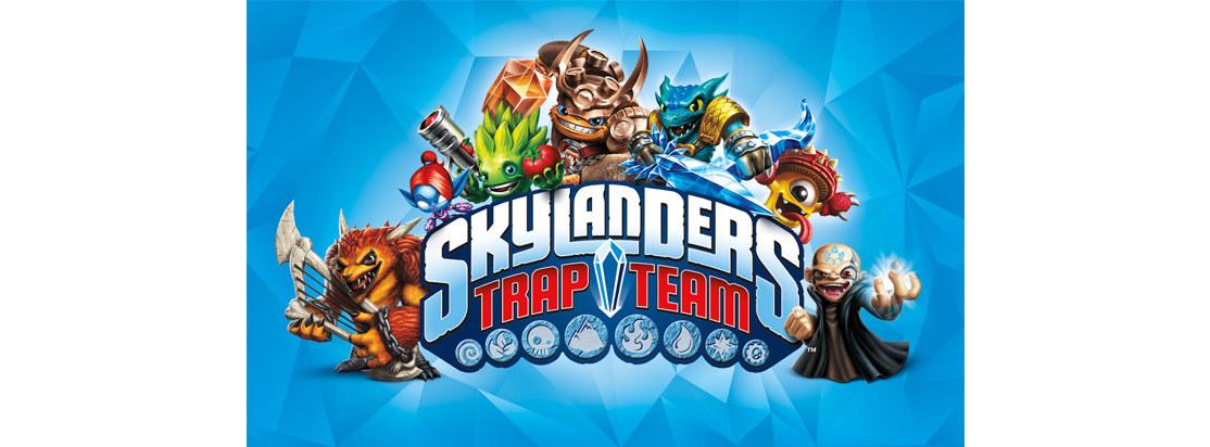 Skylanders Character Logo Lockup