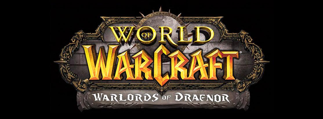 World Of Warcraft Warlords of Draenor Logo Exploration