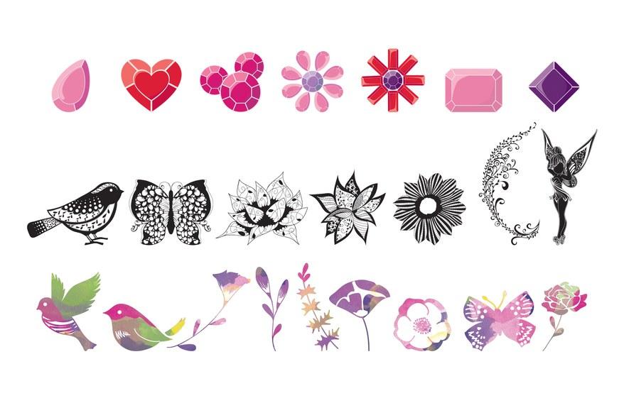Disney Girls Icon Designs