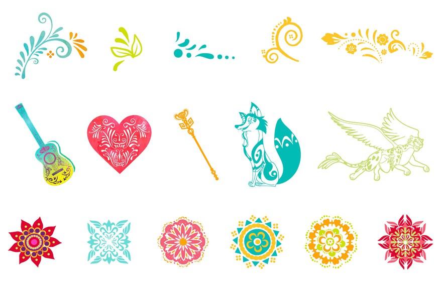 Disney's Elena of Avalor Icon Designs
