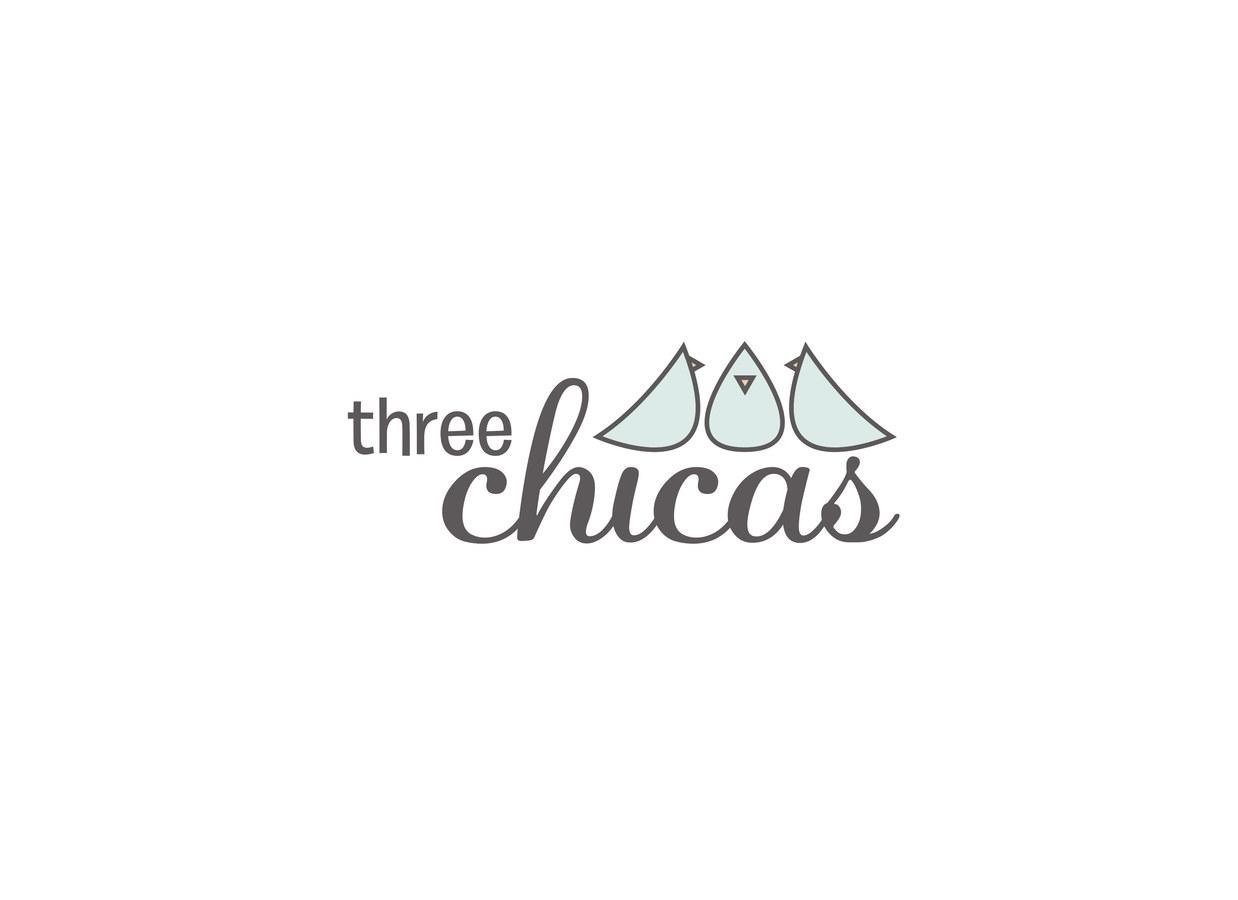 Three Chicas Logo Design