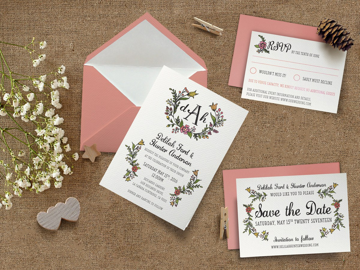 Whimsical Wedding Design Suite