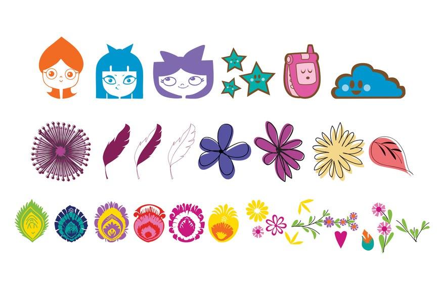 Disney Girl Icon Designs