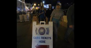 Cubs vs Dodgers - Wrigley Field October 15, 2016