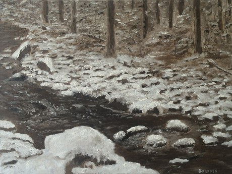 """Winter Creek 9 AM"""