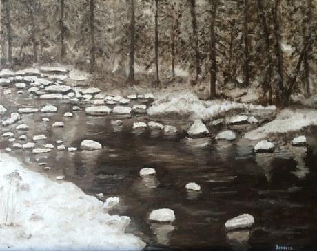 """Winter Creek 5 PM"""