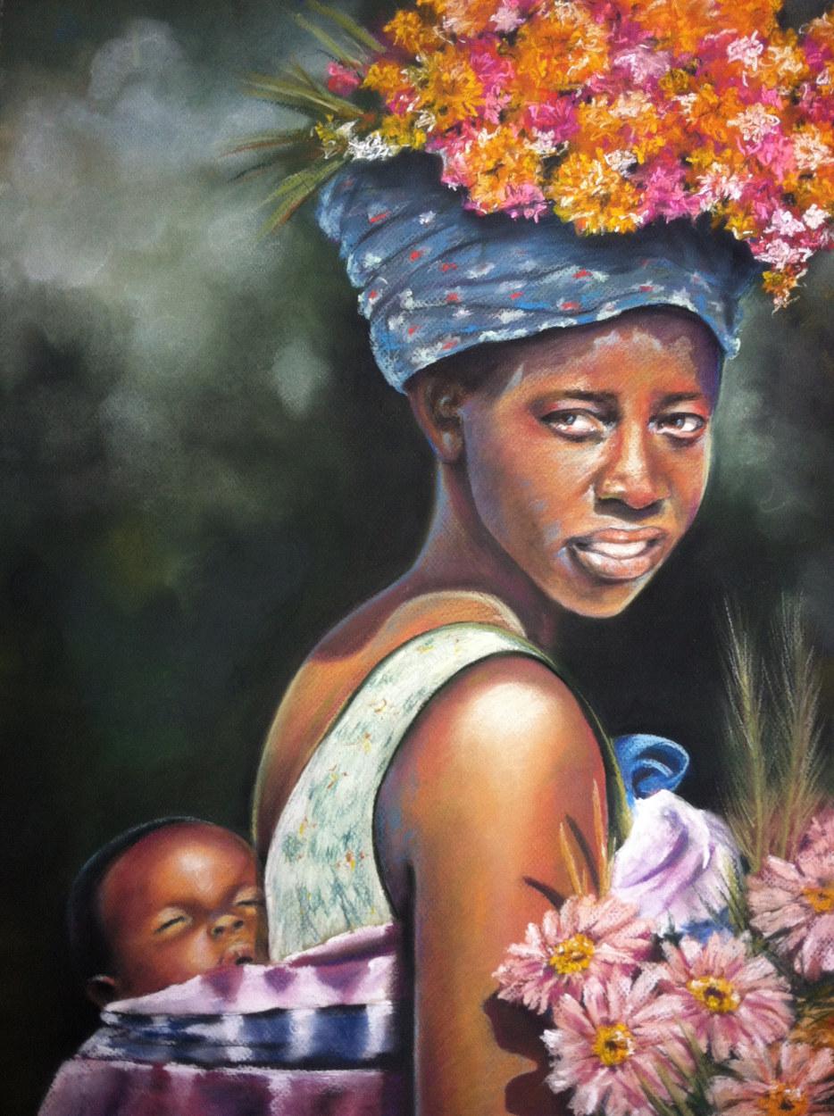 Flower Child-Framed