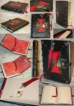 Victorian Black Widow Kill Counting Journal