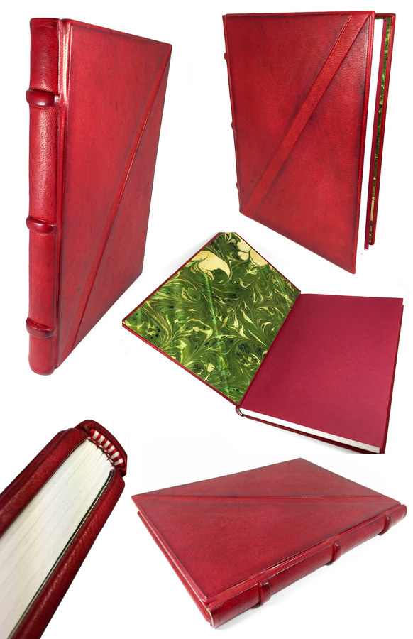 Ox Blood Sketch Journal