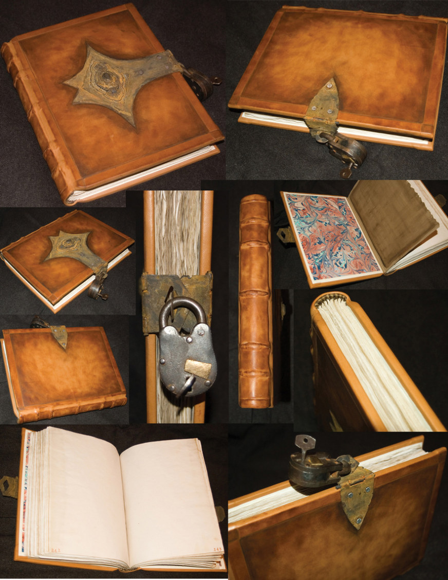 The Realm of Salama Spell Book