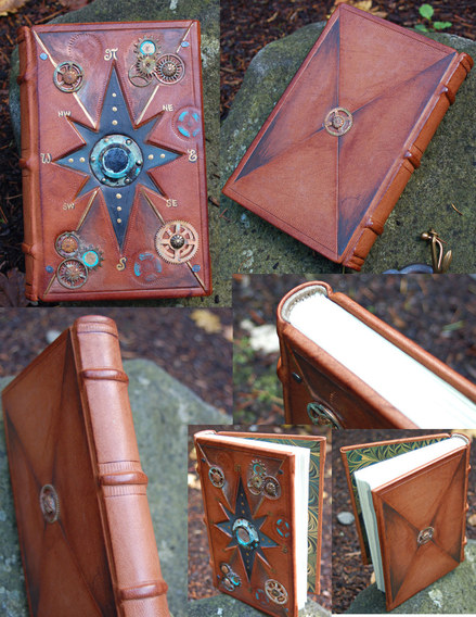 Nautical Steam Punk Captains Journal