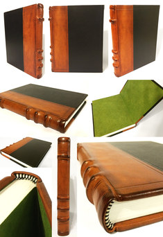 Leather Paneled Journal