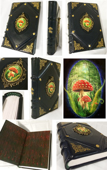 Club Muscaria Leather Journal