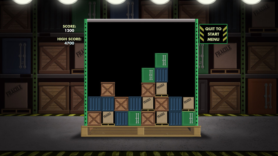 Tetris Style Game Concept