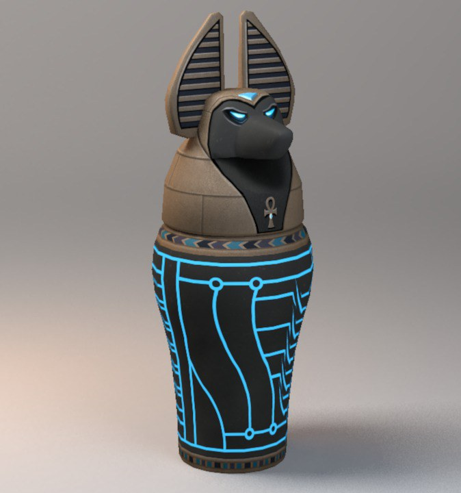 Egyptian Canopic Jar (Max)