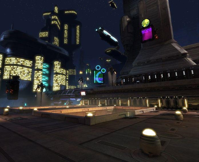 Sci Fi City Block (Unreal)