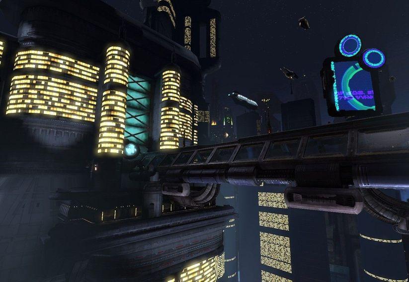 Sci Fi City Scape (Unreal)