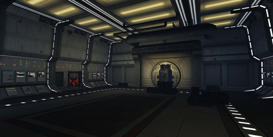 Rebel Ship Interior (Wii)