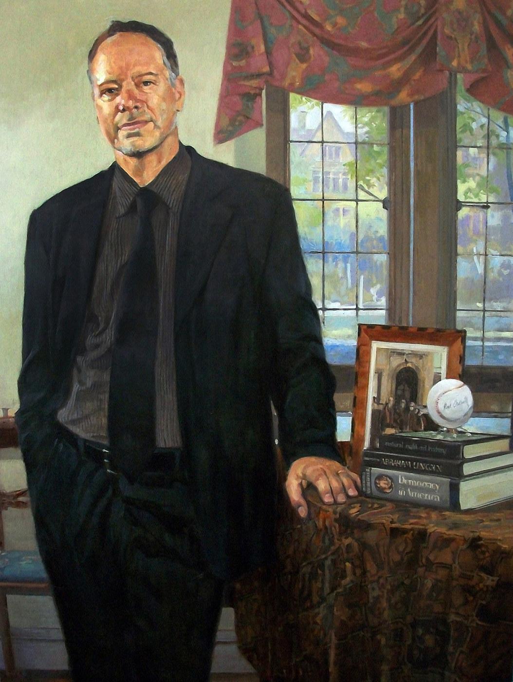 "Professor of Political Science, Steven B. Smith   48""X36""   2011"