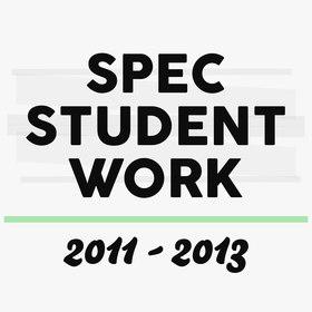 Spec Student Work | 2011-2013