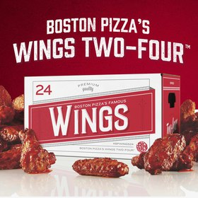 Boston Pizza | Wings Two-Four