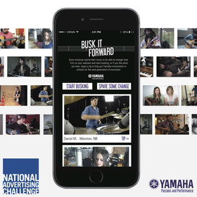 Yamaha | Busk It Forward