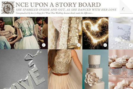 love.ly things Story Boards for iwantthatwedding.co.za