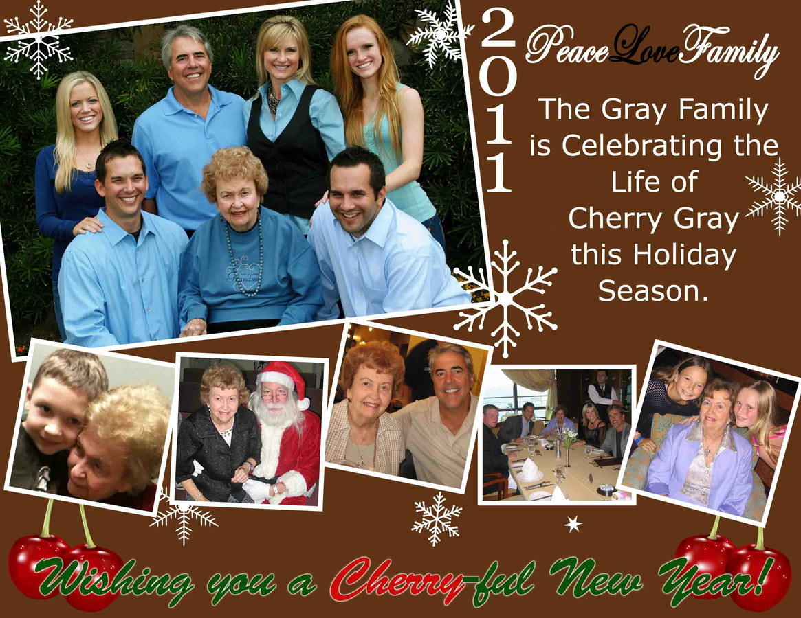 Gray Family Holiday Card 2011