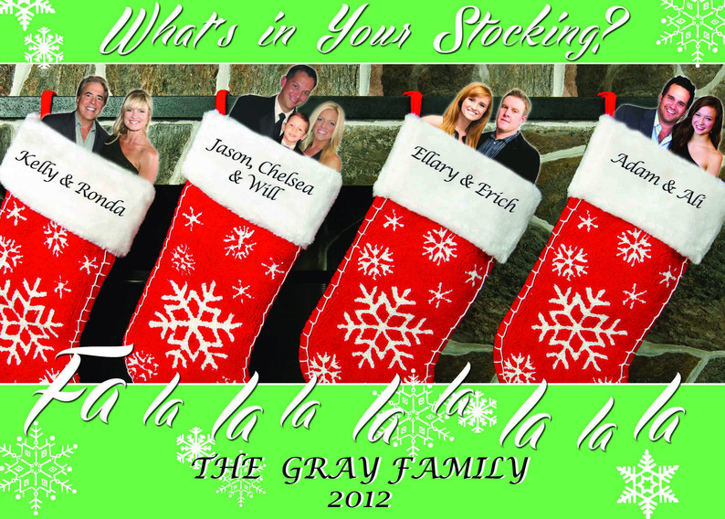 Gray Family Holiday Card 2012