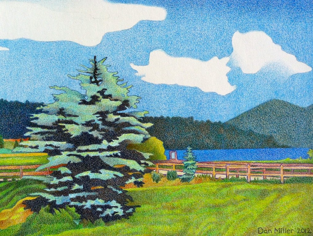 Evergreen Lake Summer