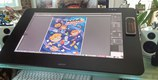 My new tool the huge Cintiq 27Q HD by Wacom