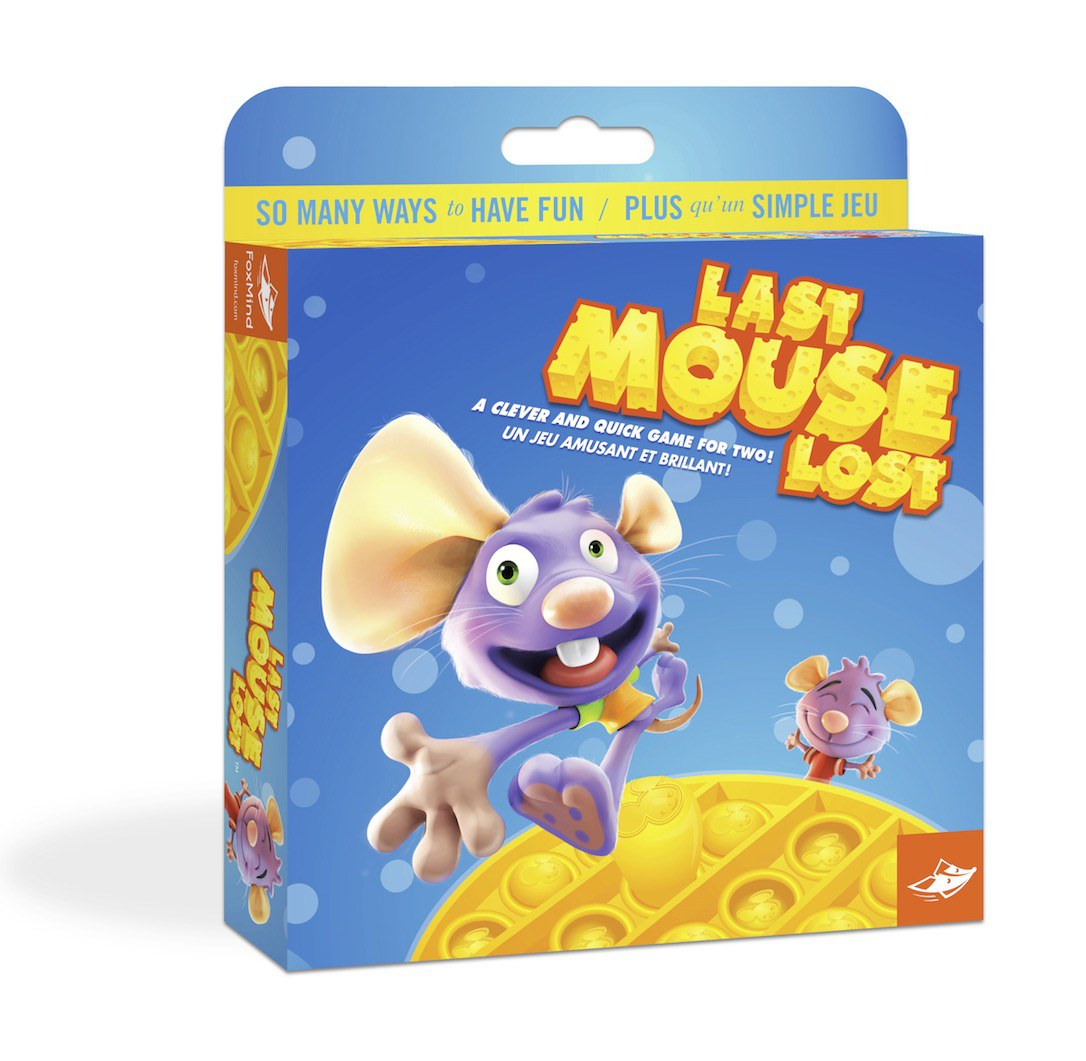 """Board game cover creation""""Last Mouse Lost"""" for Foxmind"""