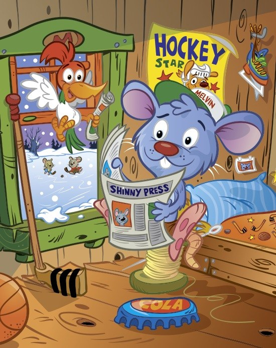 Melvin and the big hockey game ( amazon.com )