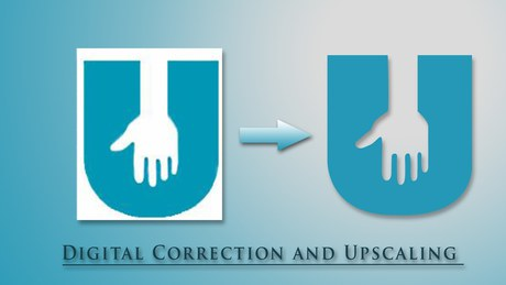Digital Correction and Upscale for United Student Athletes
