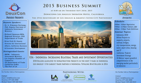 2015 Business Summit Flyer