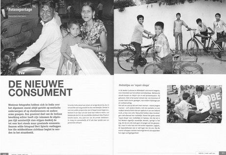 Vredesmagazine, De middenklasse van India