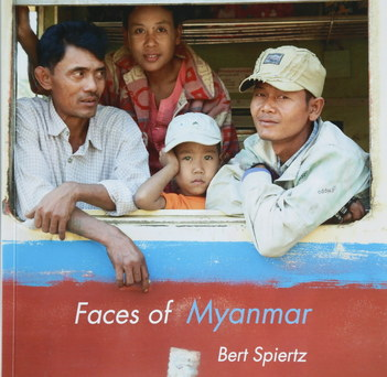 Faces of Myanmar book cover