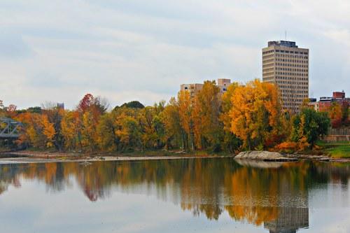 Downtown Reflections-Binghamton