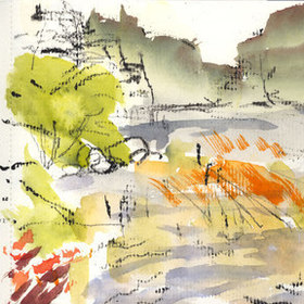 Nova Scotia and Maine Sketchbook, 2014