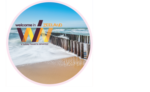 Welcome In - Zeeland Promo Sticker