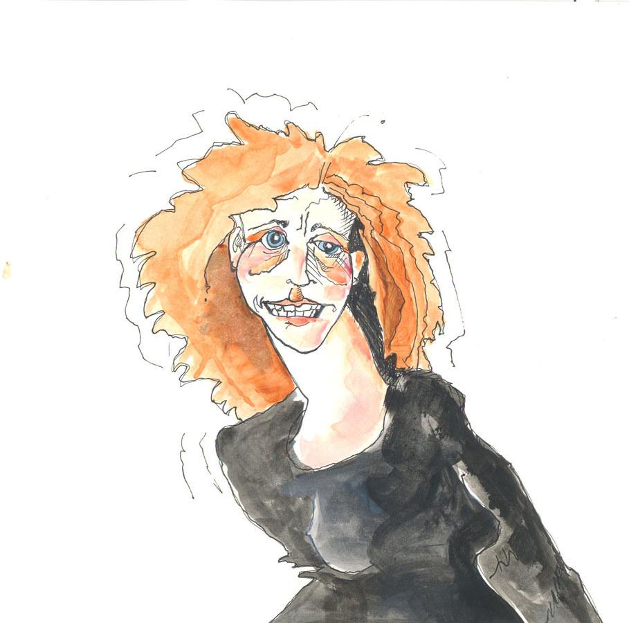 Self portrait- Nervous Lori