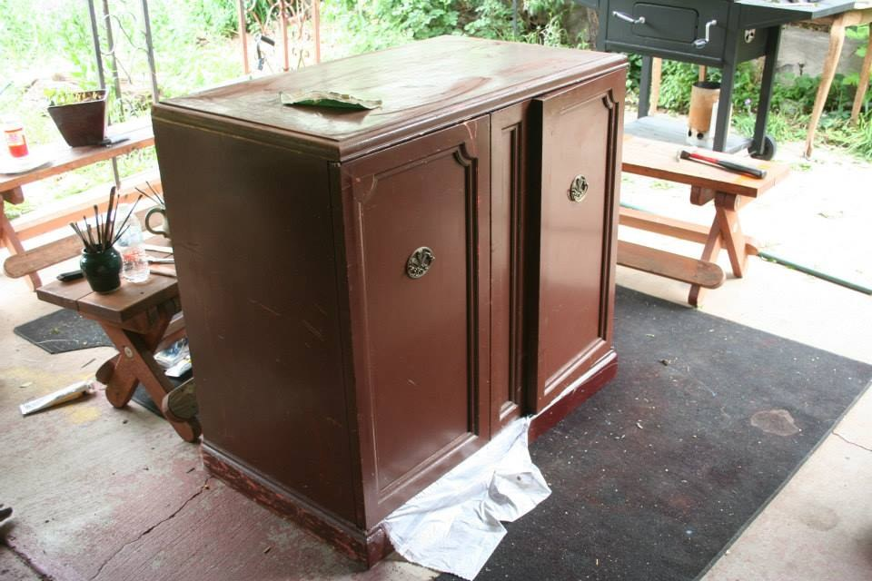 (Before) Bougereau Shepardess cabinet