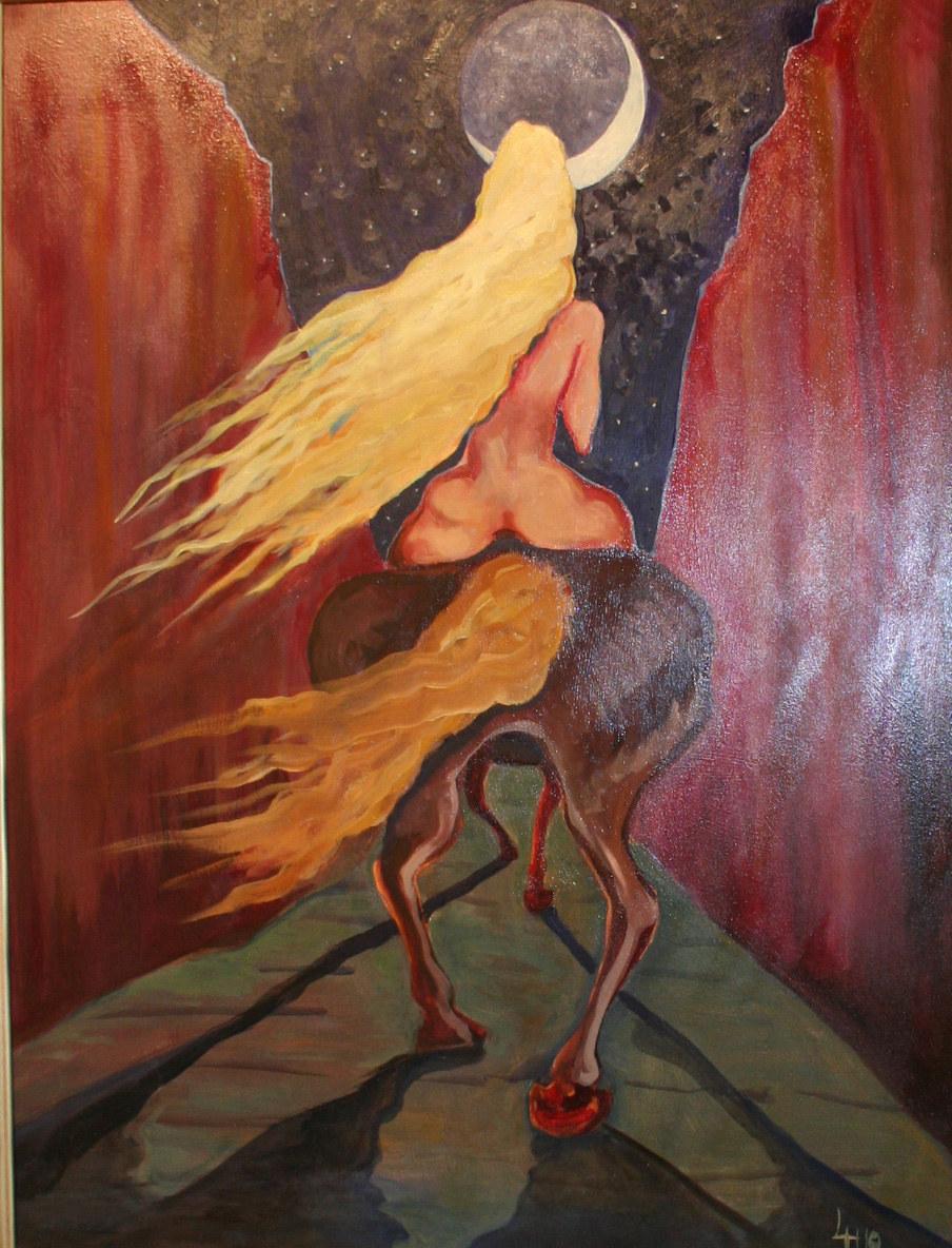 Godiva painting