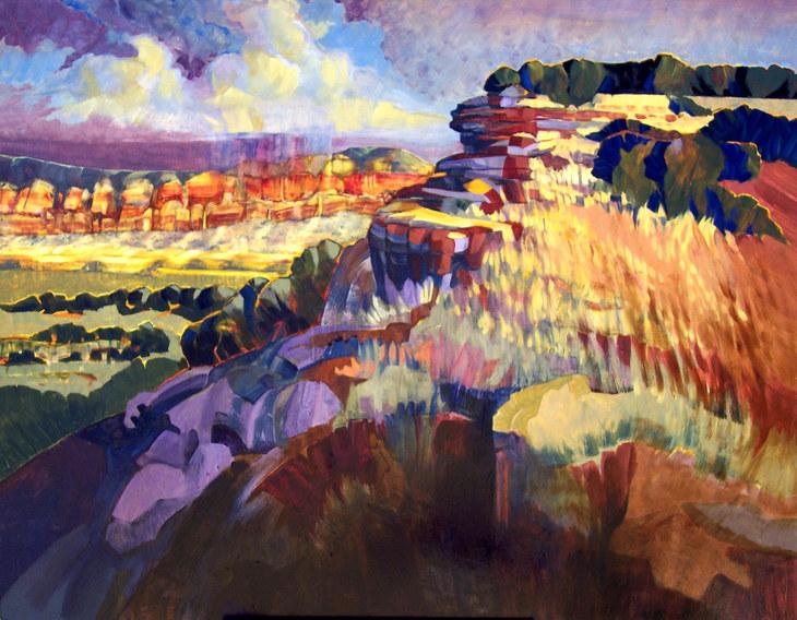 Pinon Canyon Dawn