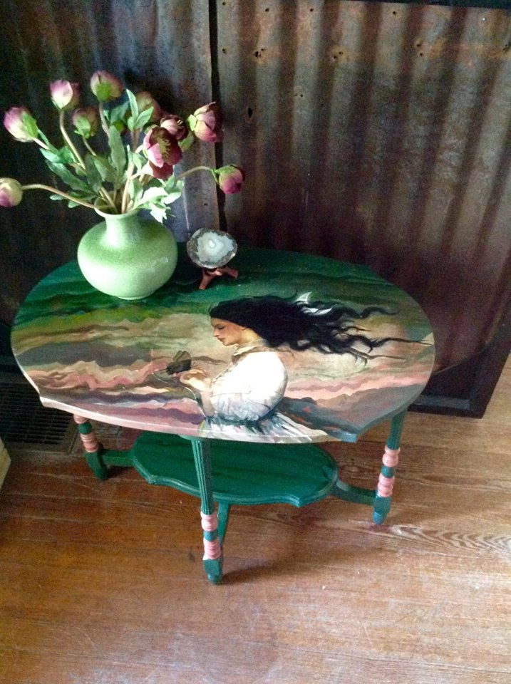Christian Schloe side table