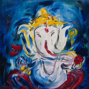Glorious Ganesh (SOLD)