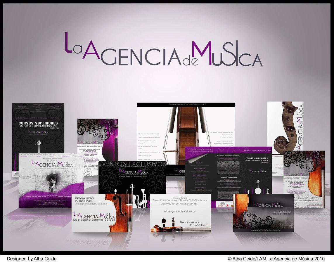 BRANDING OF LAM LA AGENCIA DE MÚSICA