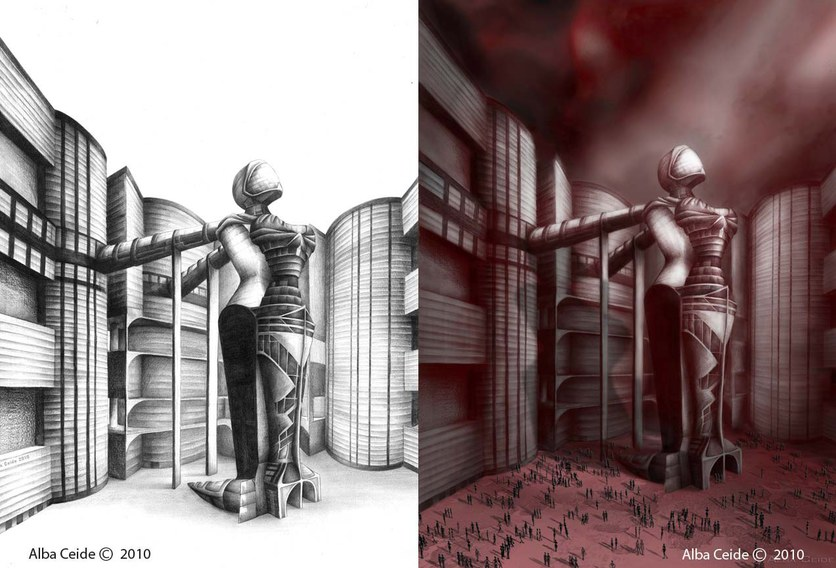 FROM PENCIL TO PHOTOSHOP